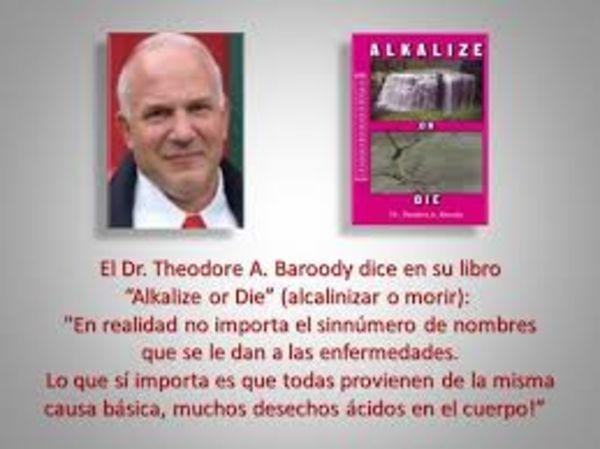 Tiến sĩ Theodore A. Baroody nói về nước ion kiềm